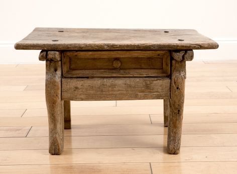 Historic Table with Drawer