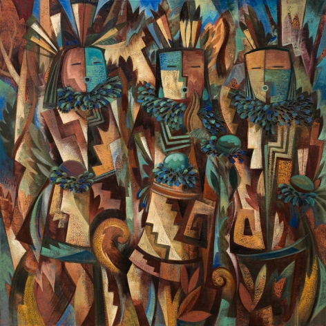 Tony Abeyta, Modernist Night Chanters