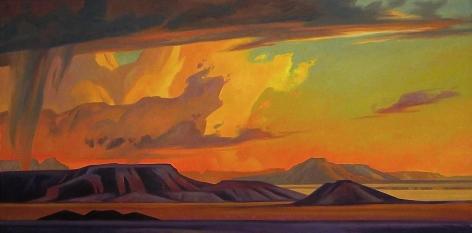 Purple Desert Hills, Ed Mell