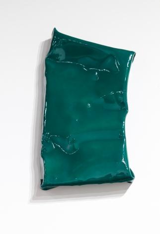Green painting on steel finish fetish