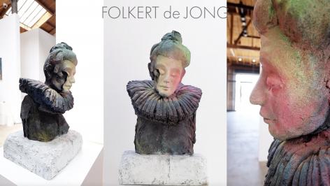 Detail of Folkert de Jong, Queen
