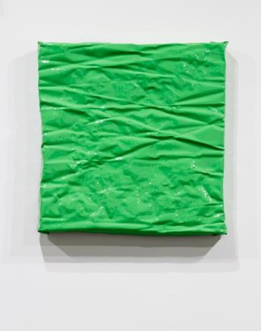 green painting shiny wall sculpture minimalism minimalist