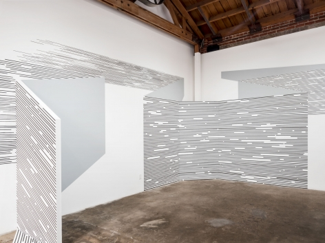 Katy Ann Gilmore, Visual Field, DENK Gallery, 2018