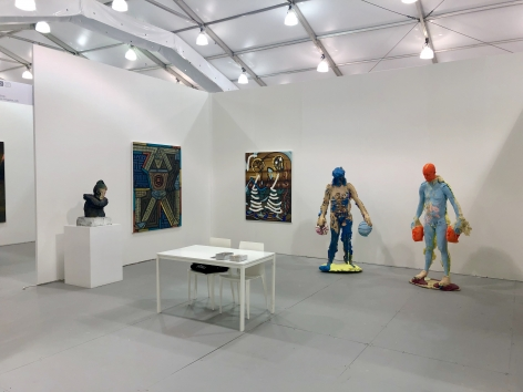 Untitled Miami Beach 2018 Art week DENK booth