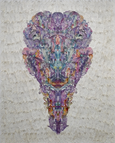 Wu Jian'an邬建安(b. 1980), Faces-Vulture秃鹫, 2014