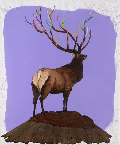 GAMA (b. 1977), A Deer of Nine Colors # 3 九色鹿 # 3, 2016