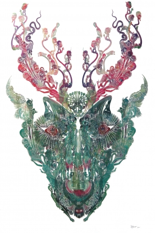 Deer – Man 鹿—人