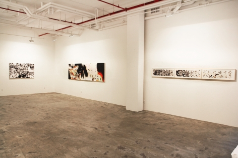 Not Too Late: Recent Works by Feng Mengbo Installation view