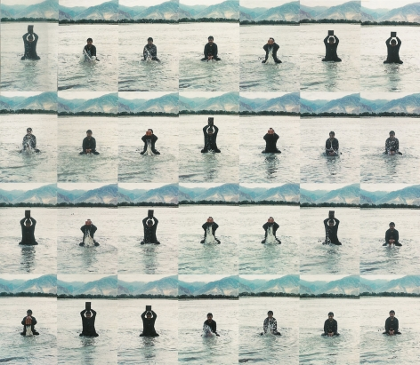 Song Dong宋冬 (b.1966), Stamping the Water 印水
