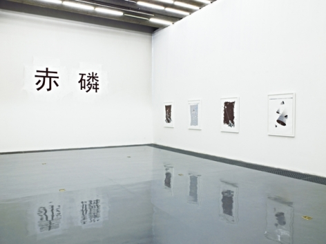 Phosphorous Red:Installation view