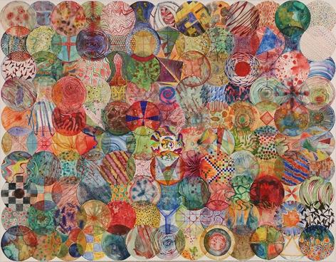 Wu Jian'an 邬建安(b. 1980), 130 Color Balls (♂) 130颗彩色圆球 (♂), 2015
