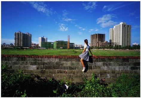 Weng Fen 翁奋, On the Wall: Haikou 5 骑墙:海口5