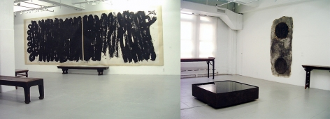 Variations of Ink: Abstract Ink Paintings of Five Chinese Artists, Installation view