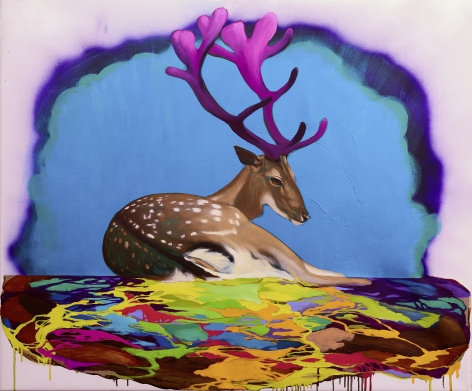Deer of Nine Colors IX九色鹿 IX, 2016