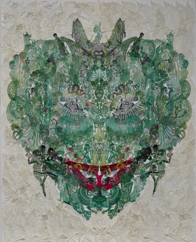 Wu Jian'an邬建安(b. 1980), Faces-Mantis螳螂, 2014