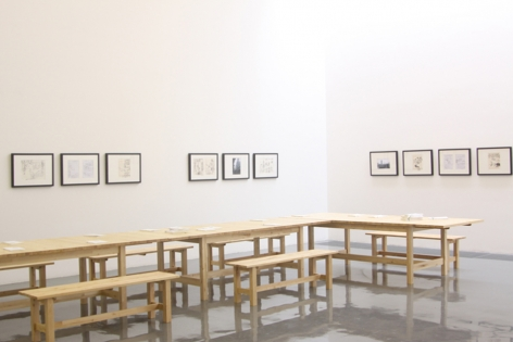 3,720: Recent Works by Wang TiandeInstallation view