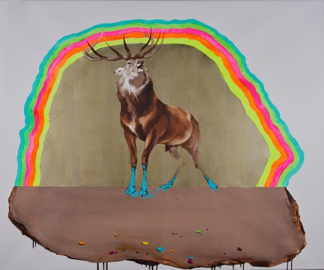 Deer of Nine Colors XI 九色鹿 XI, 2016