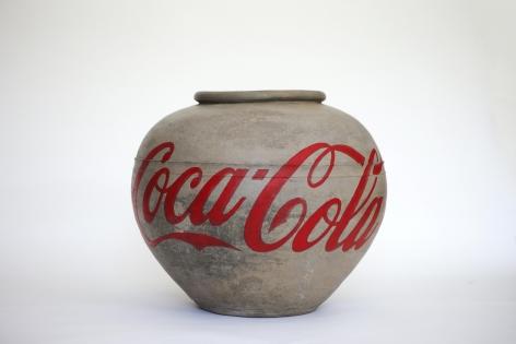 Coca Cola Vase 可口可乐陶罐, 2015