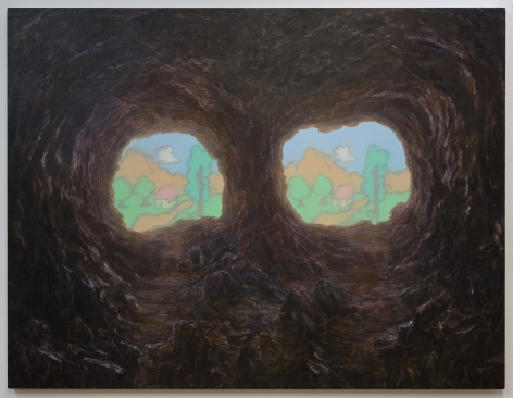 Wei Xiaoguang(b.1986) Untitled (Caves)