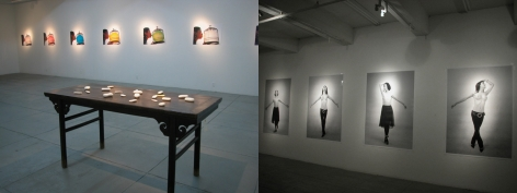Boxes, Installation view
