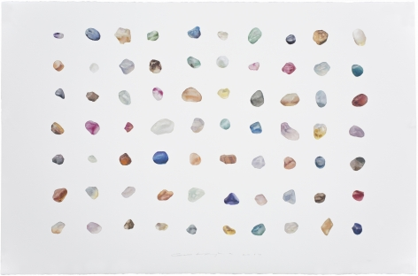 Painting is Collecting – Stones No.16 收集者 – 石 No.16