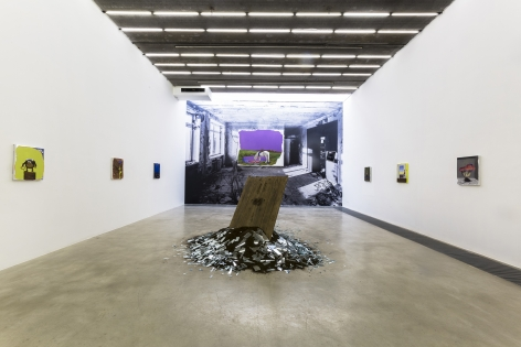 Fata Morgana: New Works by GAMA, Installation view