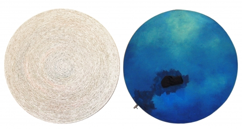 "Incision of Time: ""Tree Rings"" & ""Black Hole"" Round 201108 时间的切片:""年轮""""黑洞""圆切片"