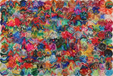 Wu Jian'an 邬建安(b. 1980), 216 Color Balls (Big Dipper) 216个彩色圆球 (北斗), 2014