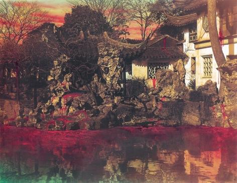 Chinese Landscape, Liu Garden, Suzhou I, 1998