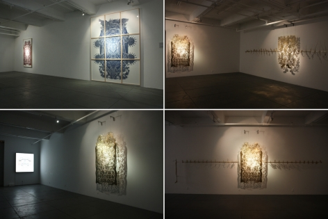 The Heaven of Nine Levels, Installation view