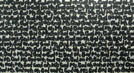 Oh My God!ä¸Šå¸å•Š!2004Acrylic and ink on canvas, 2 DVDsSet of 2 paintings, 86 5/8 x 157 1/2 in (220 x 400 cm) eachDVD: 8 minutes each