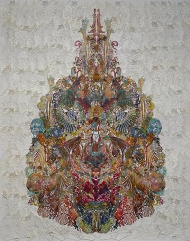 Wu Jian'an邬建安(b. 1980), Faces-Oriole黄雀, 2014