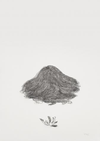 Wu Jian'ané'¬å»ºå®‰(b. 1980), Solitary Hillå¤å±±, 2014