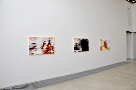 Not Too Late:Recent Works by Feng MengboInstallation view