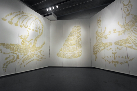 Seven Layered ShellInstallation view