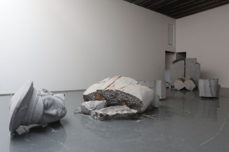 According to Zhao Zhao: Installation view