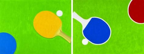 Ping Pong No. 11, 12 乒乓 No. 11, 12, 2011