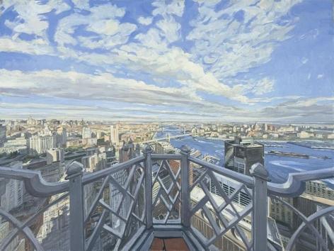 New York: Looking to Brooklyn Bridge, 2000-2002