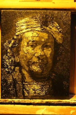 Shi Jing 史晶, Rembrandt's Self-portraitä¼¦å‹ƒæœ——自画像