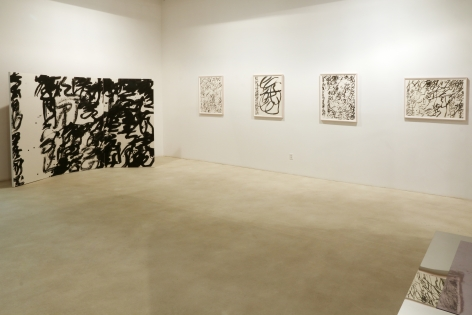 Wang Dongling: New WorksInstallation view