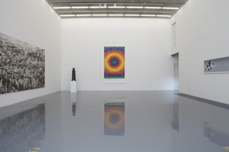 River Flows East:Installation view
