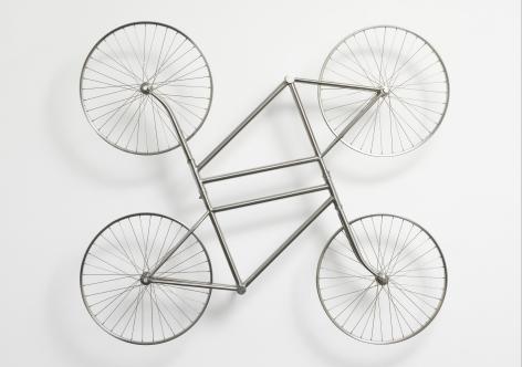Stainless Steel Bicycles in Silvery (Duo) 银色不锈钢自行车(双)