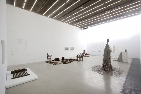 Jiang Qi: Li Hongbo, Wang Lei, Wei Ming and Ye SenInstallation view