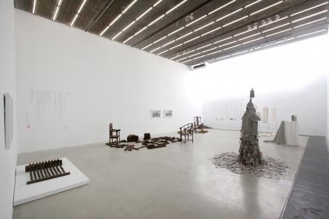 Jiang Qi: Li Hongbo, Wang Lei, Wei Ming and Ye SenInstallation view