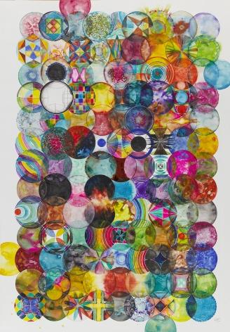 121 Color Balls 121个彩色圆球, 2013
