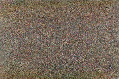Color Points 1 苯板上的彩点1