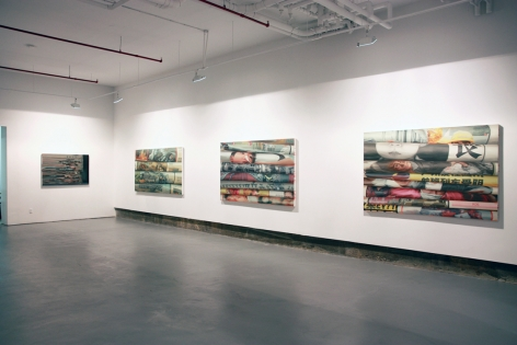 Layers: Recent Works by Xiaoze XieInstallation view