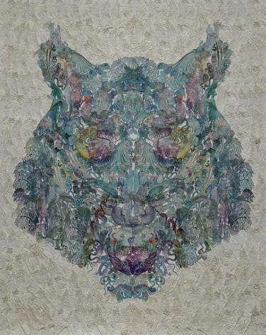 Wu Jian'ané'¬å»ºå®‰(b. 1980), Faces-Tigerè™Ž, 2014