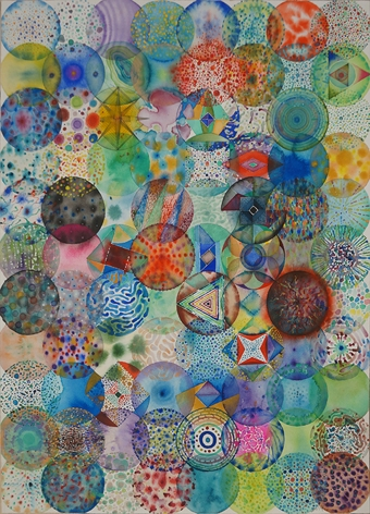 88 Color Balls (3) 88颗彩色圆球 (3), 2014