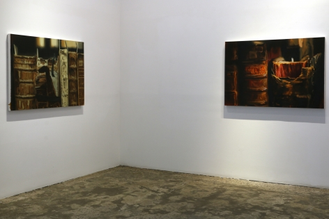 Endurance: New Works by Xie Xiaoze , Installation view